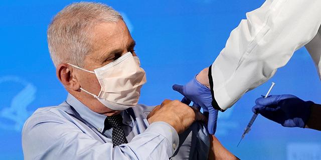 """ד""""ר פאוצ'י: """"100 מיליון חיסונים ב-100 ימים? זה לגמרי אפשרי"""""""