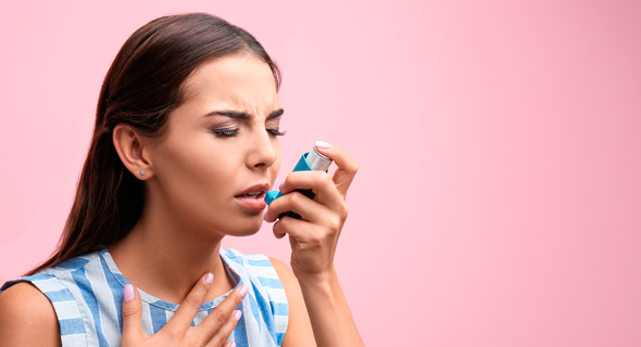 BreezoMeter's technology can help those who struggle with asthma (illustrative). Photo: Shutterstock