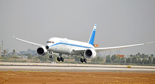 מטוס של אל על, צילום: יאיר שגיא