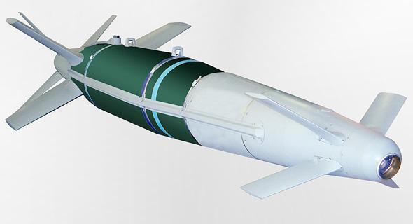 פצצה מסוג ספייס של רפאל, צילום: באדיבות רפאל