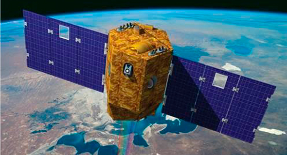 Israel's Venus satellite almost collided with a NASA satellite (illustration). Photo: ISA