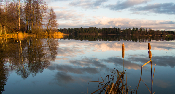 אגם בפינלנד