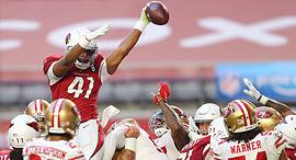 אריזונה סן פרנסיסקו פוטבול NFL סטרימינג אמזון פריים, צילום: רויטרס