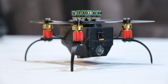 Rafael showcases drones with AI-driven computer vision to aid urban warfare