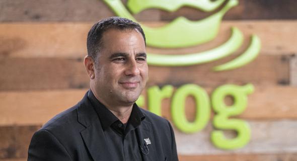 """שלומי בן חיים, מייסד ומנכ""""ל JFrog , צילום: בלומברג"""