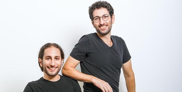 Alon Rosenthal (left) and Guy Rosenthal. Photo: Shlomi Yossef