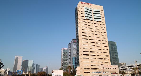 מגדל טויוטה חברת רייזון, צילום: אוראל כהן