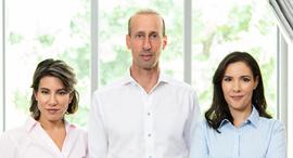 INcapital Ventures' Inbar Haham, Natty Nashman, and Mark Nashman. Photo: PR