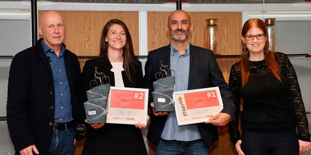 המנצחת בתחרות +StartUp: חברת הביוטכנולוגיה מטריסלף