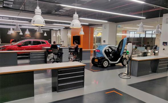 Renault-Nissan-Mitsubishi's Innovation Lab in Tel Aviv. Photo: Courtesy