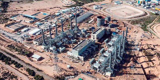 תחנת הכוח דוראד באשקלון, צילום: בני מור