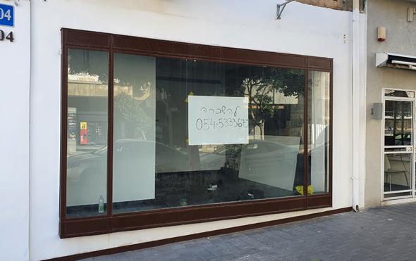 """חנות להשכרה בת""""א בקורונה"""