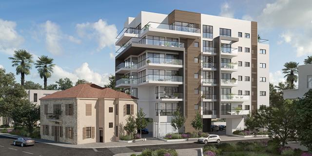 אזורים רכשה 210 דירות חדשות להשכרה בחיפה תמורת 238 מיליון שקל
