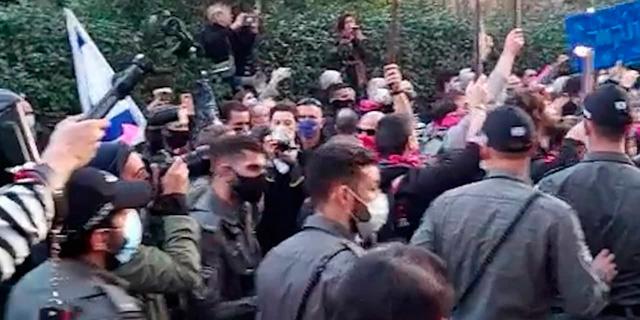 המחאה נגד נתניהו: 11 נעצרו בירושלים