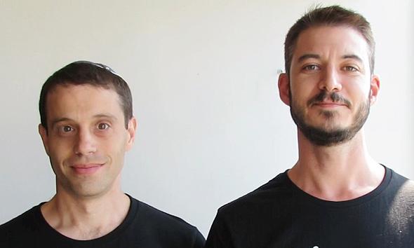 Co-Founder and CTO Yitzi Pfeffer and Aviel Blumenfeld, CEO, at IMedis Medical. Photo: Ben-Horin & Alexandrovitz PR