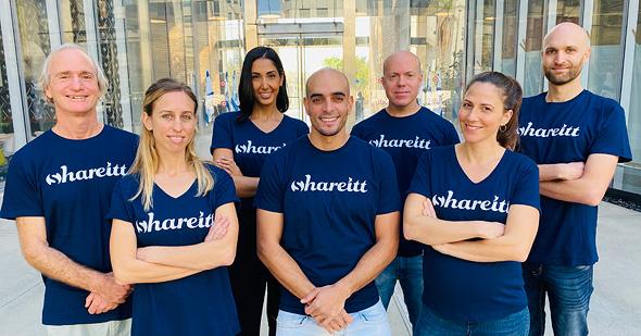 The Shareitt team. Photo: Shareitt