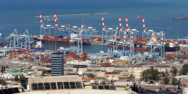 נמל חיפה, צילום: אלעד גרשגורן