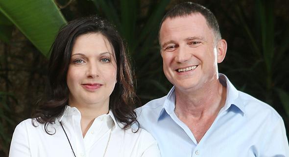 שר הבריאות יולי אדלשטיין ואשתו אירנה נבזלין