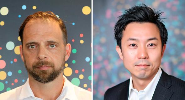 Tal Chen (left) and Daiki Moriyama. Photo: Deloitte PR and Almog Sogbeker