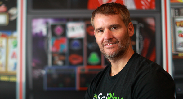 SciPlay CEO Josh Wilson. Photo: Amit Shaal