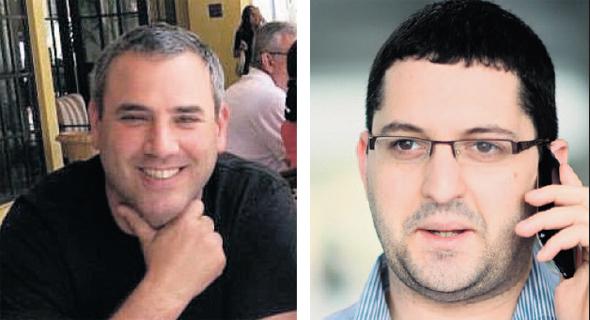 מימין: היועץ האסטרטגי זאב פיינר וערן רשף, אחד השותפים ברייזון