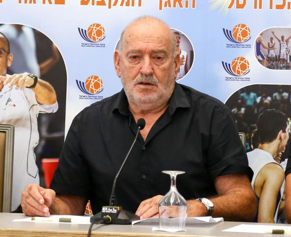 """יו""""ר איגוד הכדורסל עמירם הלוי, צילום: ראובן שוורץ"""