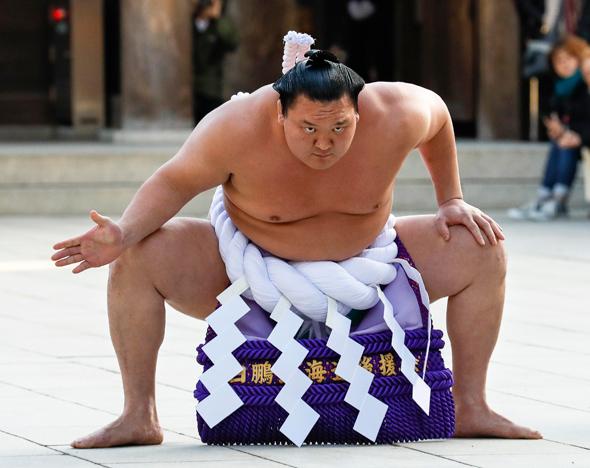 מתאבק הסומו האקוהו