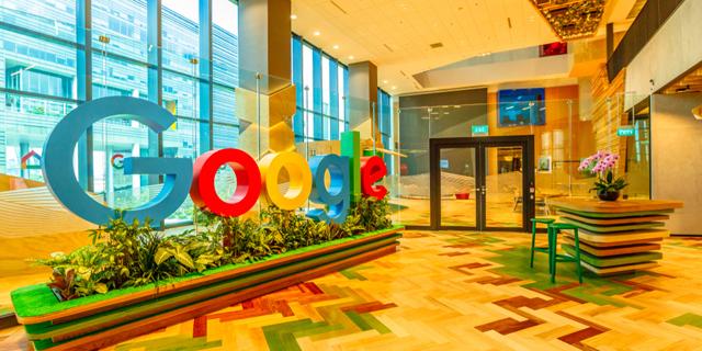 Google offices. Photo: Shutterstock