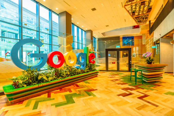 """משרדי גוגל בארה""""ב"""