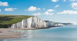 פוטו אתרי טבע שעשויים להיעלם בריטניה White Cliffs of Dover, צילום: שאטרסטוק