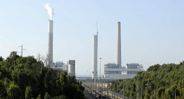 תחנת הכוח של חברת החשמל באשקלון