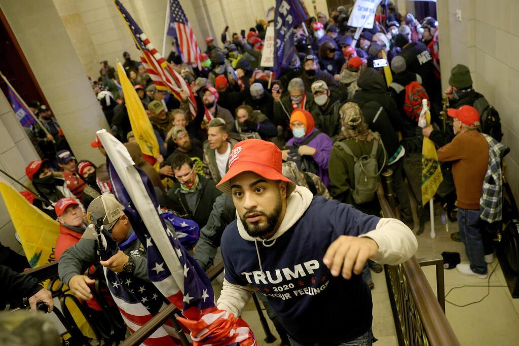 המהומות בוושינגטון השבוע