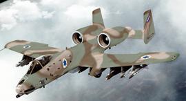 הקברניט A10 מטוס תקיפה חיל האוויר, צילום: USAF