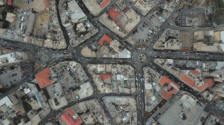 מרכז רמאללה במבט על, צילום: שאטרסטוק