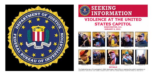 בעקבות המהומות בגבעת הקפיטול: ה-FBI מבקש את עזרת הציבור לאתר מתפרעים