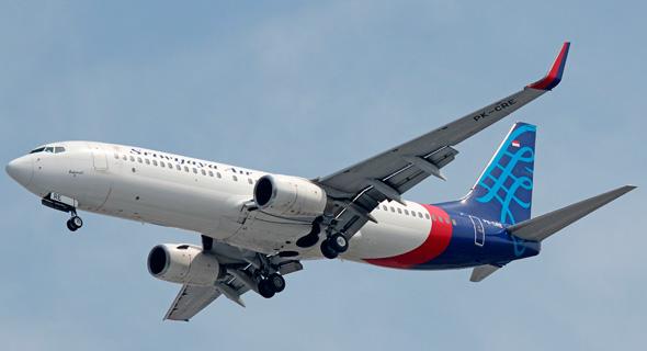 """מטוס בואינג 737 של חברת התעופה """"סריוויג'איה אייר"""""""