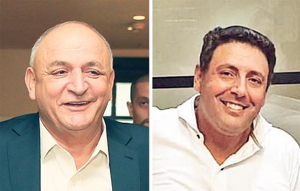 מימין צחי אבו ו יצחק תשובה, צילומים: דוד לביא, אוראל כהן