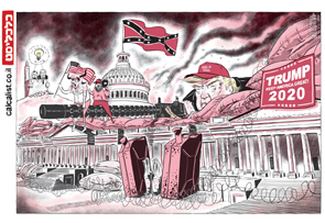 קריקטורה יומית 10.1.21, איור: יונתן וקסמן