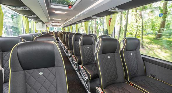 אוטובוס מרצדס מחלקה ראשונה אגד, מקור: מרצדס