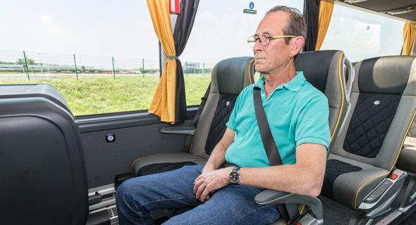 אוטובוס מחלקה ראשונה של מרצדס, מקור: מרצדס