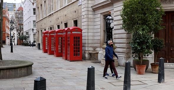 רחובות לונדון, ינואר 2020, צילום: רויטרס