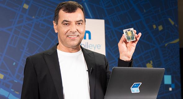 Amnon Shashua at CES 2021. Photo: Mobileye PR