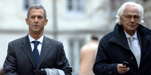 מימין: מארק בונאן ובני שטיינמץ. בונאן הוא הנאמן של קרן באלדה וגם עורך דינו של איש העסקים המורשע, צילום: רויטרס
