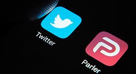 אפליקציית פרלר לצד טוויטר , צילום: שאטרסטוק