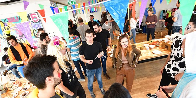 A ClimaCell office party. Photo: ClimaCell