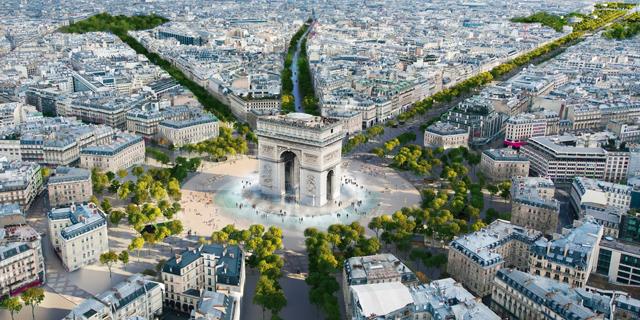 """פריז תשפץ את השאנז אליזה: """"תהפוך לגן יוצא דופן"""""""