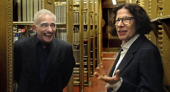 """פראן לייבוביץ' ומרטין סקורסזי ב""""נגיד שזו עיר"""". להיות שנון זה גם קלישאה ניו יורקית"""