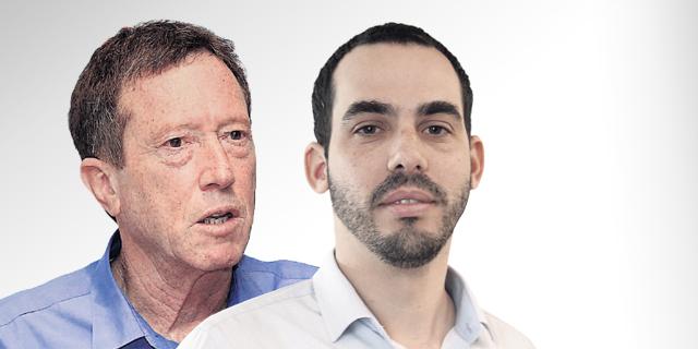 """מימין: יוגב גרדוס ואבי שמחון. """"מצע עובדתי פגום"""" , צילום: אוראל כהן"""