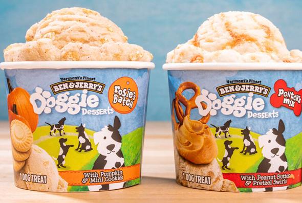 גלידת בן אנד ג'ריס לכלבים