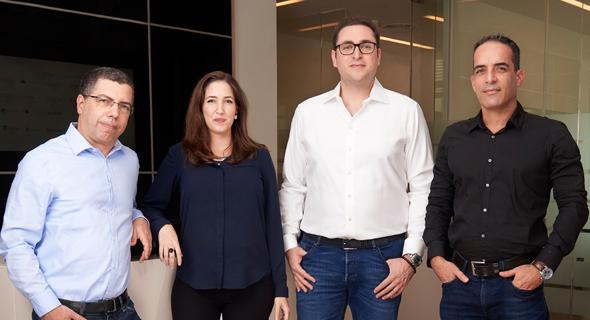 Arik Kleinstein (left), Nofar Amikam, Lior Litwak, and Kobi Samboursky  Photo: Ben Yitzhaki